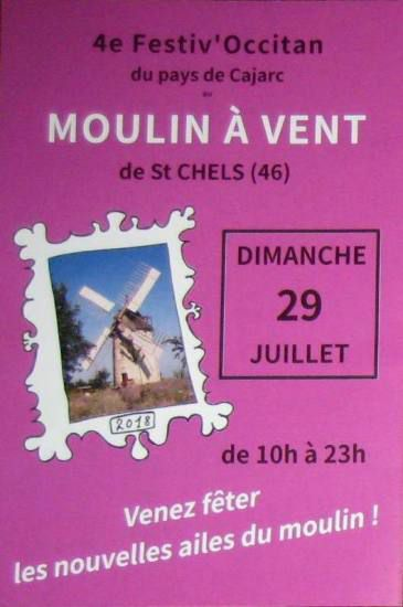 Inauguration du moulin à vent