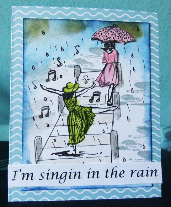 I'M SINGIN IN THE RAIN !!!! 25/10/19