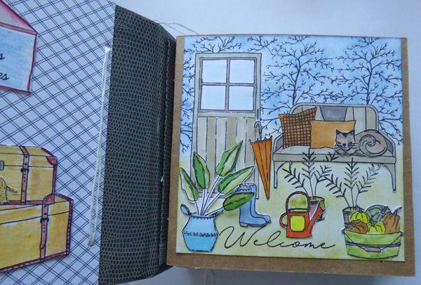 PAGE DE GARDE CHOU & FLOWERS - 31/3/20
