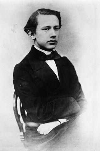Le jeune Tchaïkosky