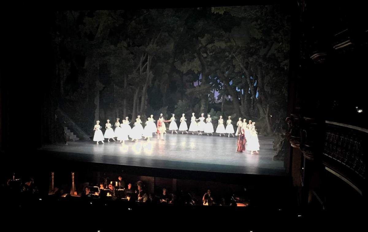 Hannah O'Neill - Vincent Chaillet : la Sylphide ( Pierre Lacotte) 16 juillet 2017 Palais Garnier