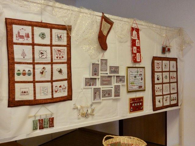 Exposition Club point de croix L'Entre-2-Fils 2/7 - Noël