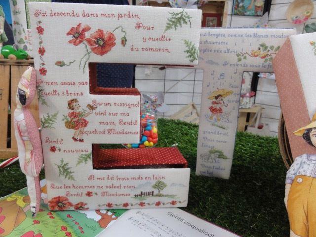3ème Festival de la Broderie à Dole (39) - 20 et 21 mai 2017 ✄ 17/18 ✄