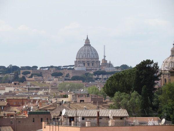 Vue sur le Vatican
