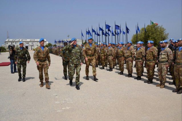 """Libano:Granatieri di Sardegna al comando dell'operazione""""Leonte"""""""