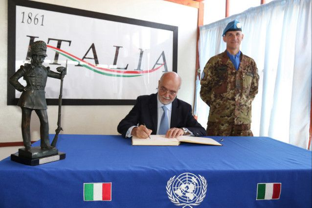 Libano:militari italiani sulla blue line con il mine action support group