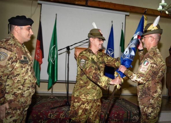 Afghanistan:avvicendamento dei Comandanti per gli addestratori italiani