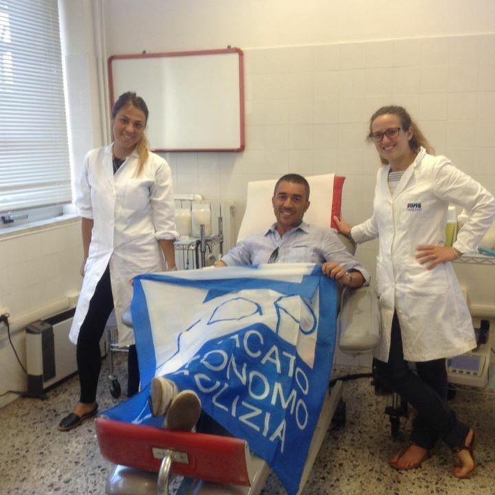 Cagliari:poliziotti donano il sangue ai talassemici