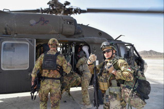 Afghanistan:militari italiani supportano forze afgane nel controllo dell'area di Farah