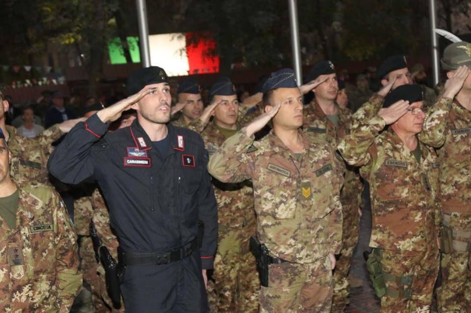Afghanistan:militari italiani celebrano il 4 novembre in missione