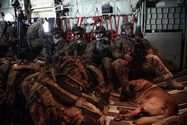 """Afghanistan:militari italiani portano a termine l'Operazione""""Zafar 57""""contro gli insurgents"""