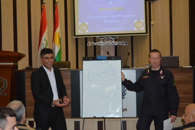 Iraq:Carabinieri terminano corso a favore dei poliziotti iracheni