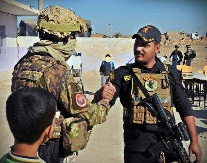 """Iraq:Pinotti""""Orgogliosi dei nostri militari che hanno contribuito liberazione Iraq addestrando le truppe locali"""""""