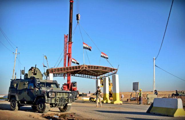 Iraq:militari italiani supportano forze sicurezza irachene e fanno riaprire strada dopo 3 anni