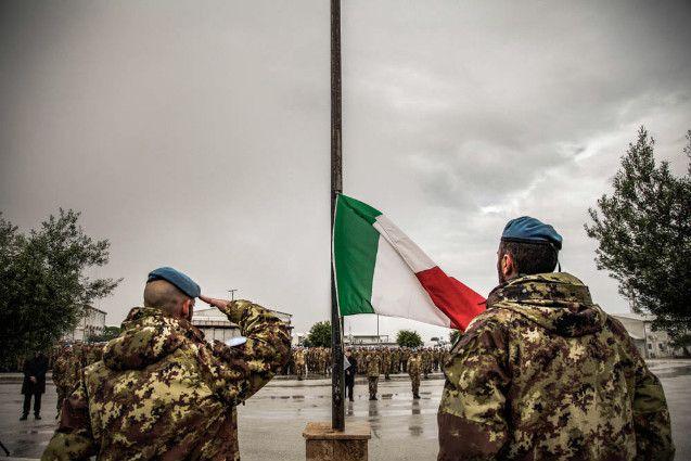 Libano:l'Ordinario Militare visita il contingente italiano per la Santa Pasqua