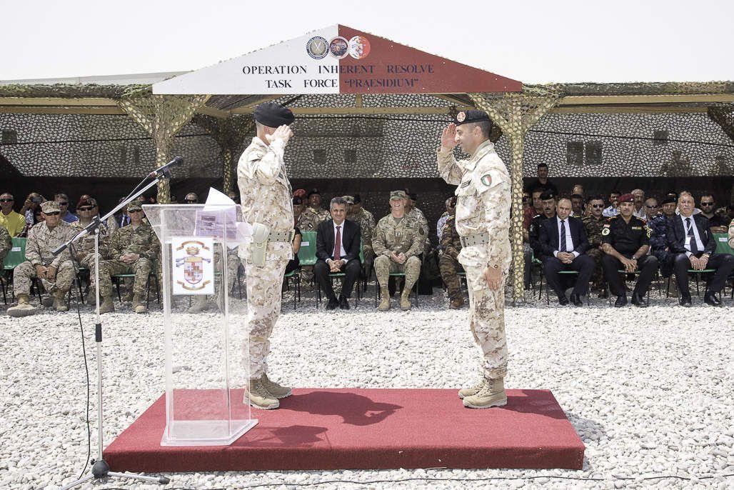"""Iraq:i """"Dimonios""""del 151° Reggimento Brigata Sassari portano a termine la loro missione"""