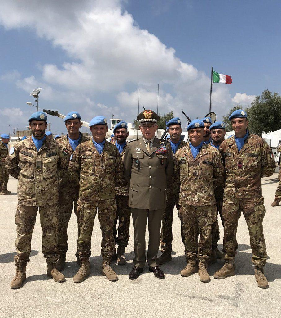"""Libano:il Generale Graziano:""""I nostri militari sono tra i migliori soldati al mondo"""""""