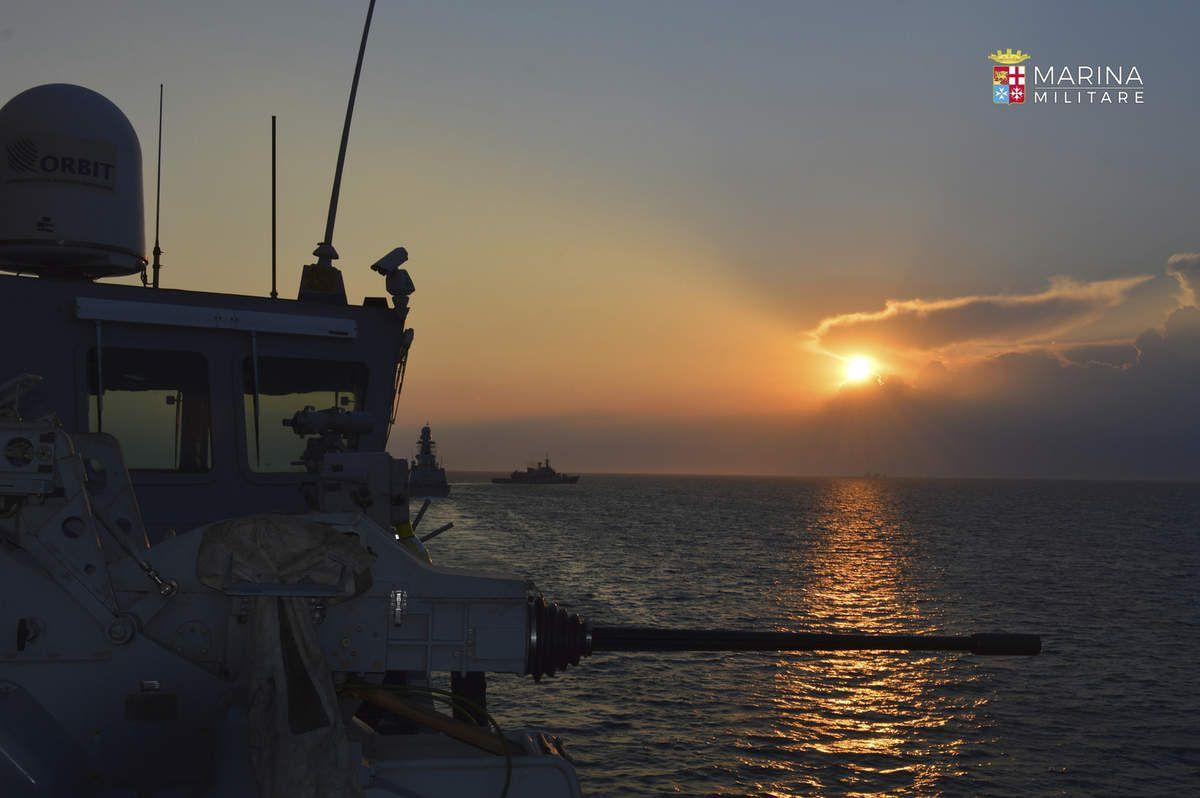"""Roma:é iniziata l' imponente esercitazione della Marina Militare """"Mare Aperto 2019"""""""
