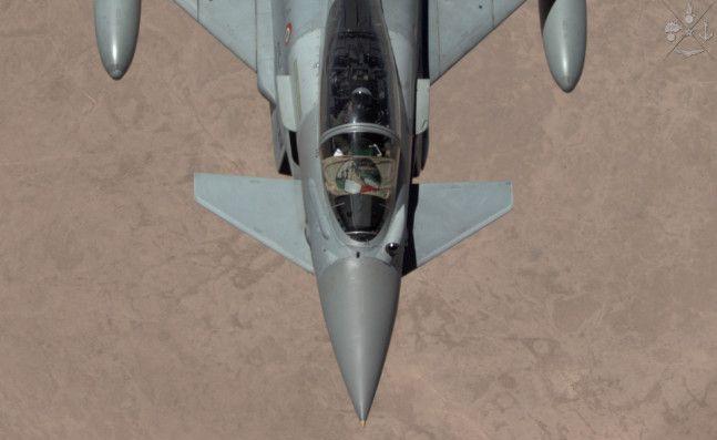 Kuwait :gli Eurofighter italiani celebrano i primi 100 giorni della loro missione