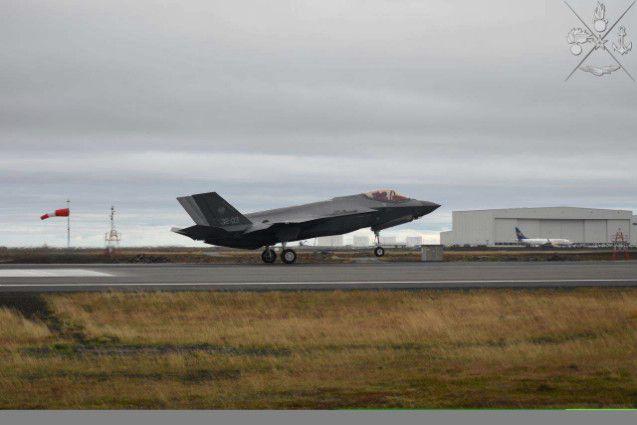 """Islanda:in operazione NATO """"Northern Lightning""""militari italiani primi ad  impiegare F-35"""