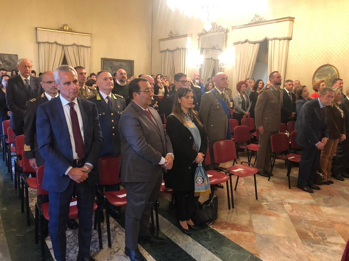"""Lecce:Medaglia d'oro al al Caporal Maggiore Scelto Pascali della Brigata """"Pinerolo"""""""