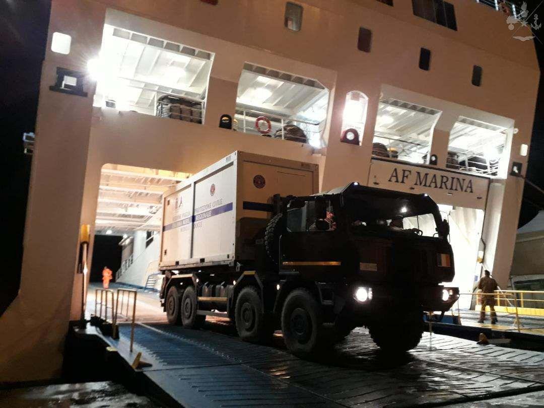 Albania:militari italiani in prima linea nel supporto a popolazione dopo terremoto