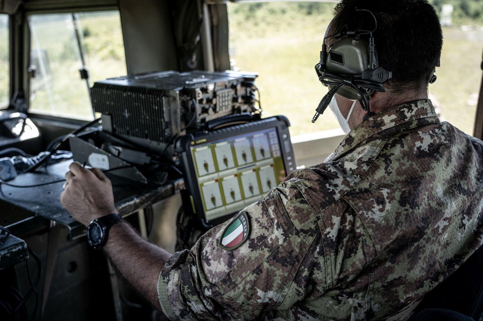 Carpegna:i Paracadutisti del 183° Nembo portano a termine intenso addestramento