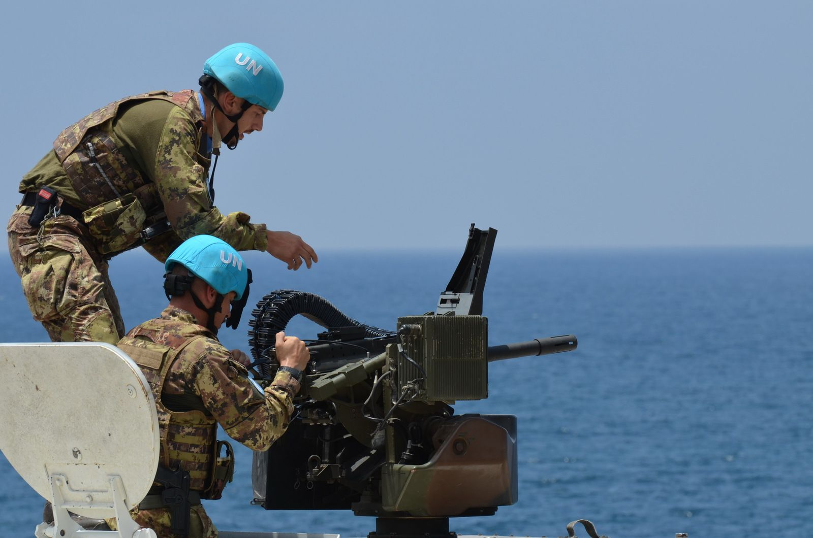 """Libano:militari italiani concludono importante esercitazione multinazionale """"Blue Storm"""""""