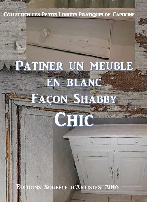 Patiner un meuble en blanc style shabby chic peintures for Patiner un meuble blanc