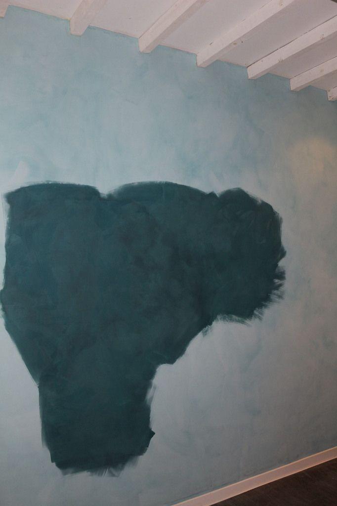 repeindre à la chaux sur peinture chaux - peindre une peinture de chaux
