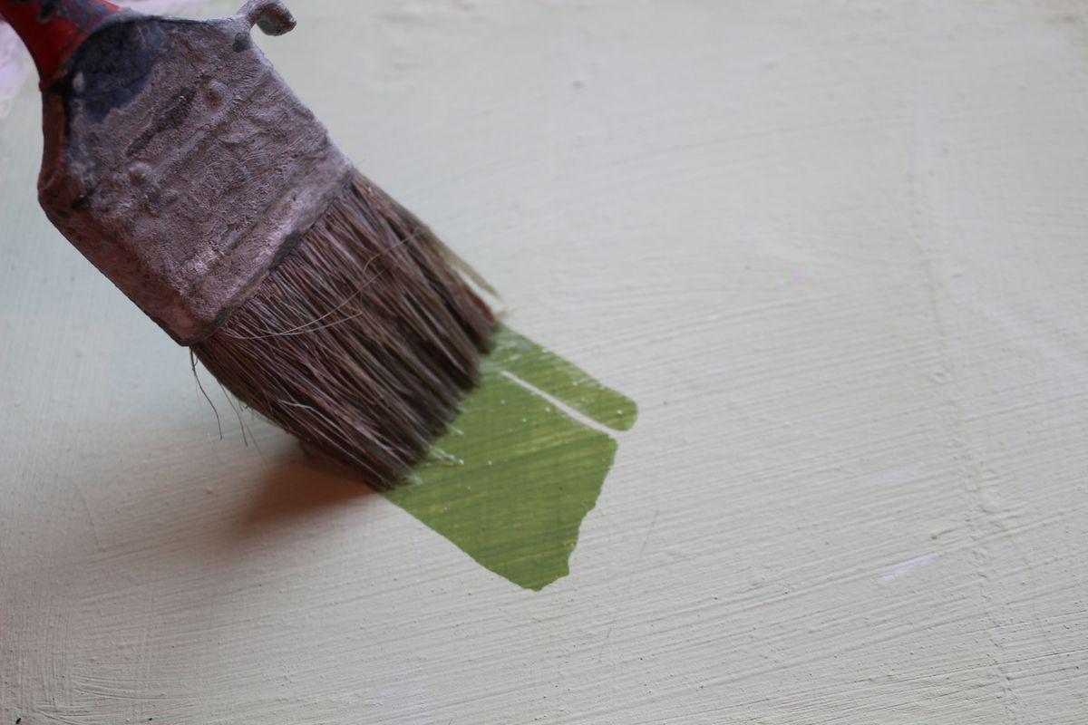 sur quoi peindre à la chaux - peindre à la chaux sur peinture acrylique