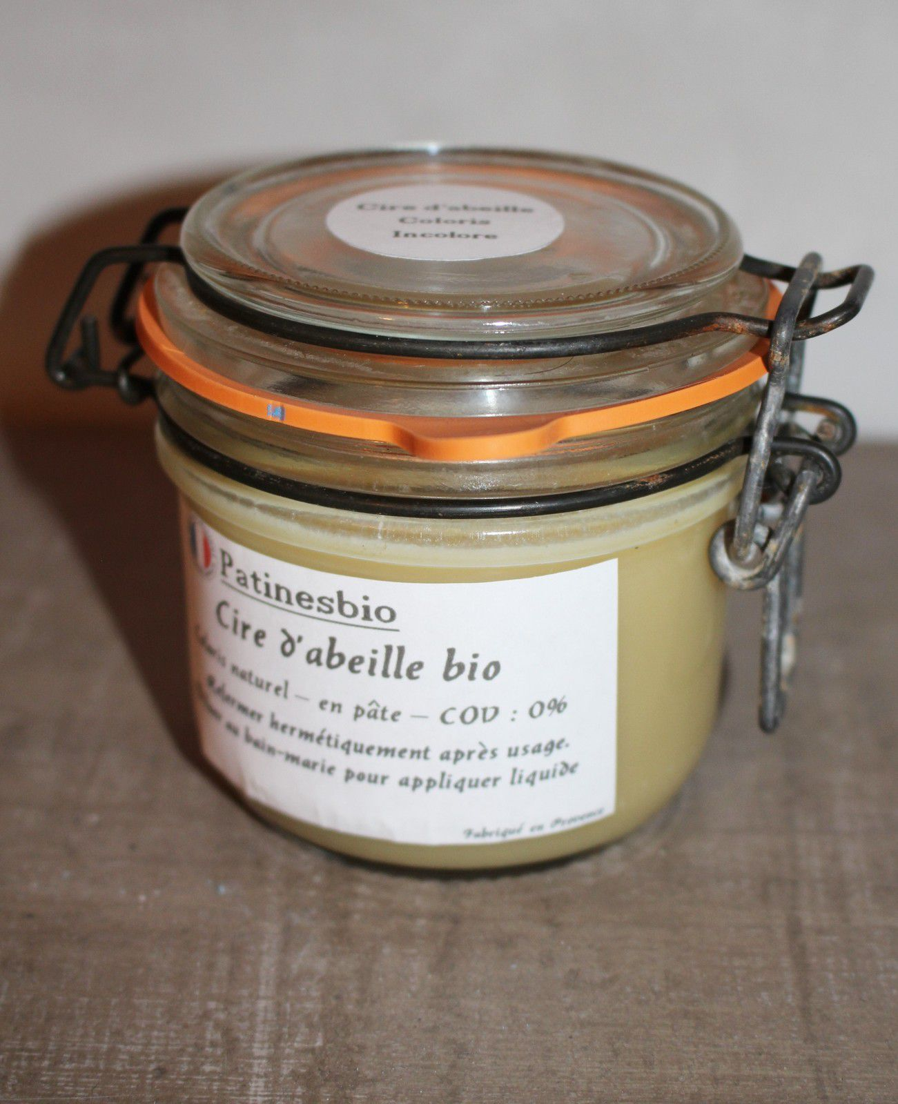 cire sans produit chimique, cire 100% naturelle, abeille cire