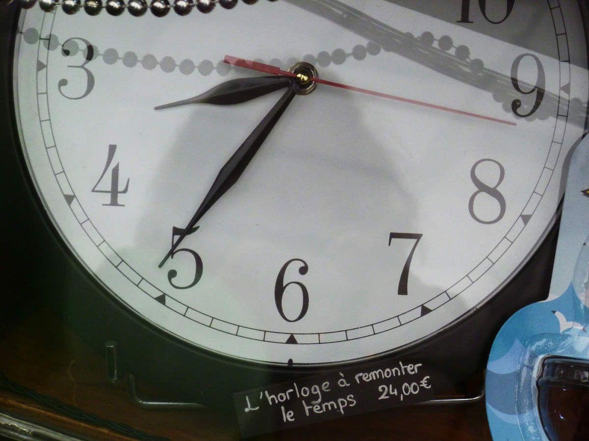 L'horloge à remonter le temps