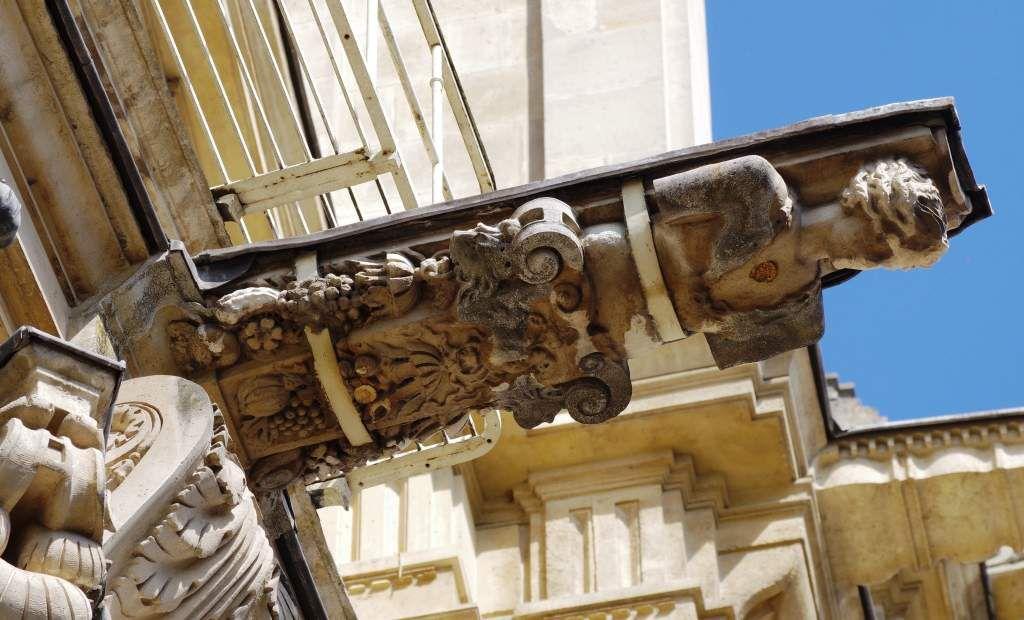 Détails des gargouilles de l'église Saint-Eustache