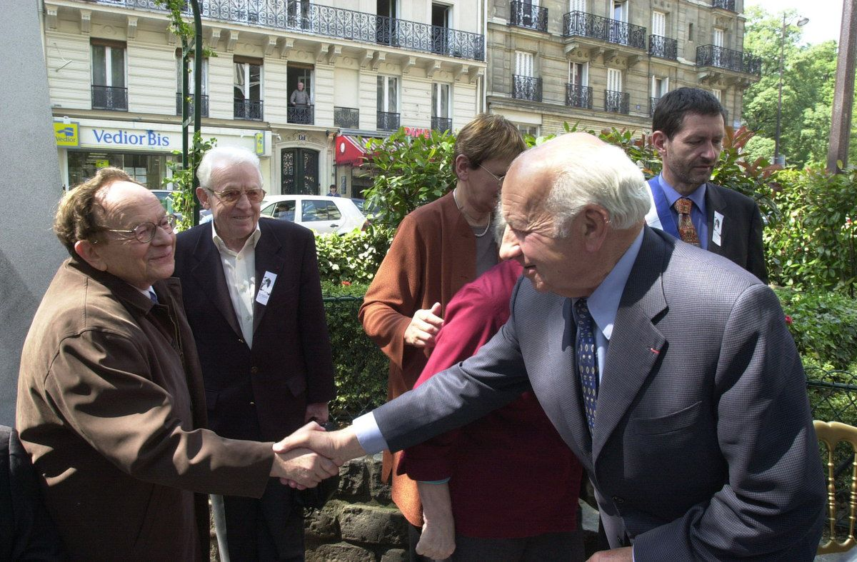 Inauguration de la Place Maurice Audin, a Paris en 2004: les photos
