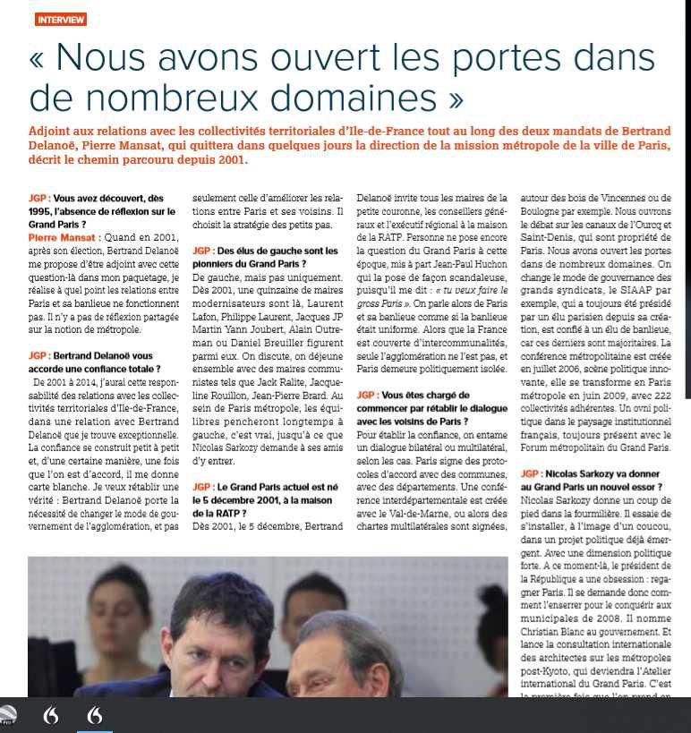 interview par Jacques Paquier