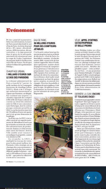 Paris, un article de Marianne