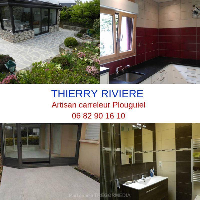 Plouguiel : Thierry Riviere pour tous vos travaux de carrelage et dallages terrasse