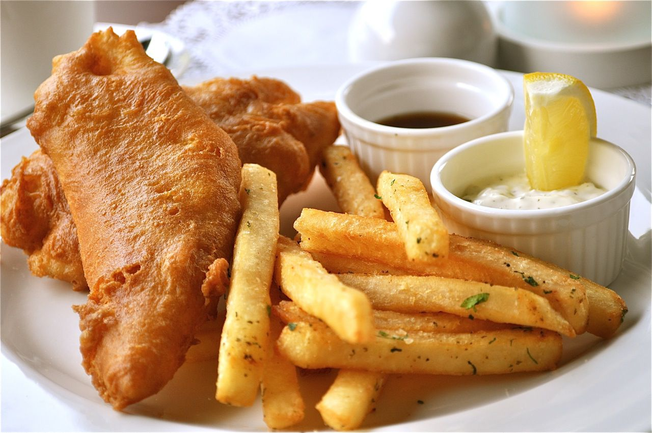 5° - Fish & chips recipe
