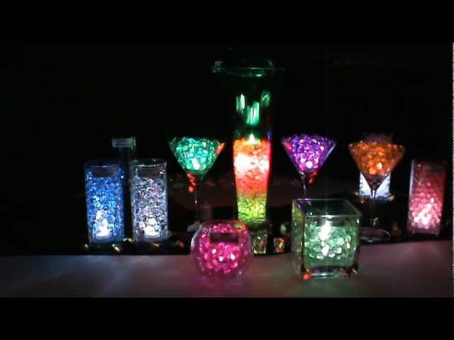 vase lumineux led submersible