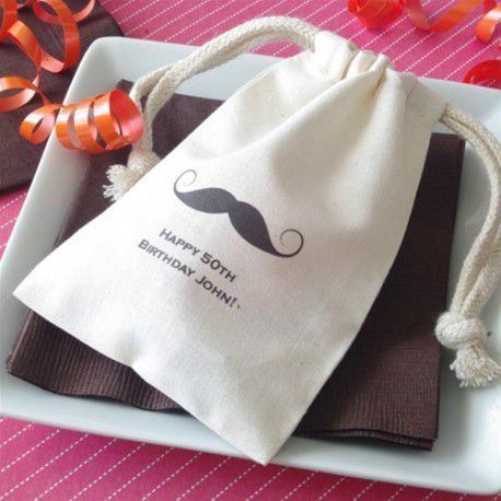 povhon dragees baby shower moustache