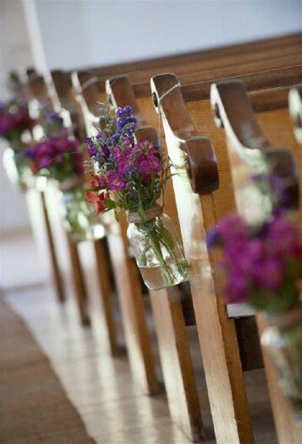 décoration église avec vases