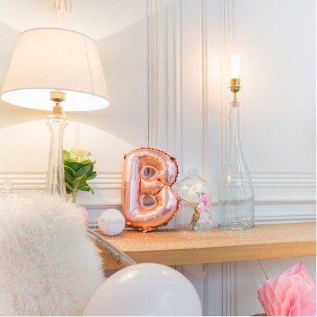 Ballons en cuivre lettre B