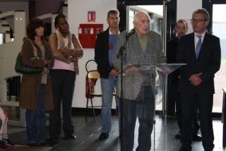Remise de la légion d'honneur à Paul Castel: Limay, hôte de la cérémonie