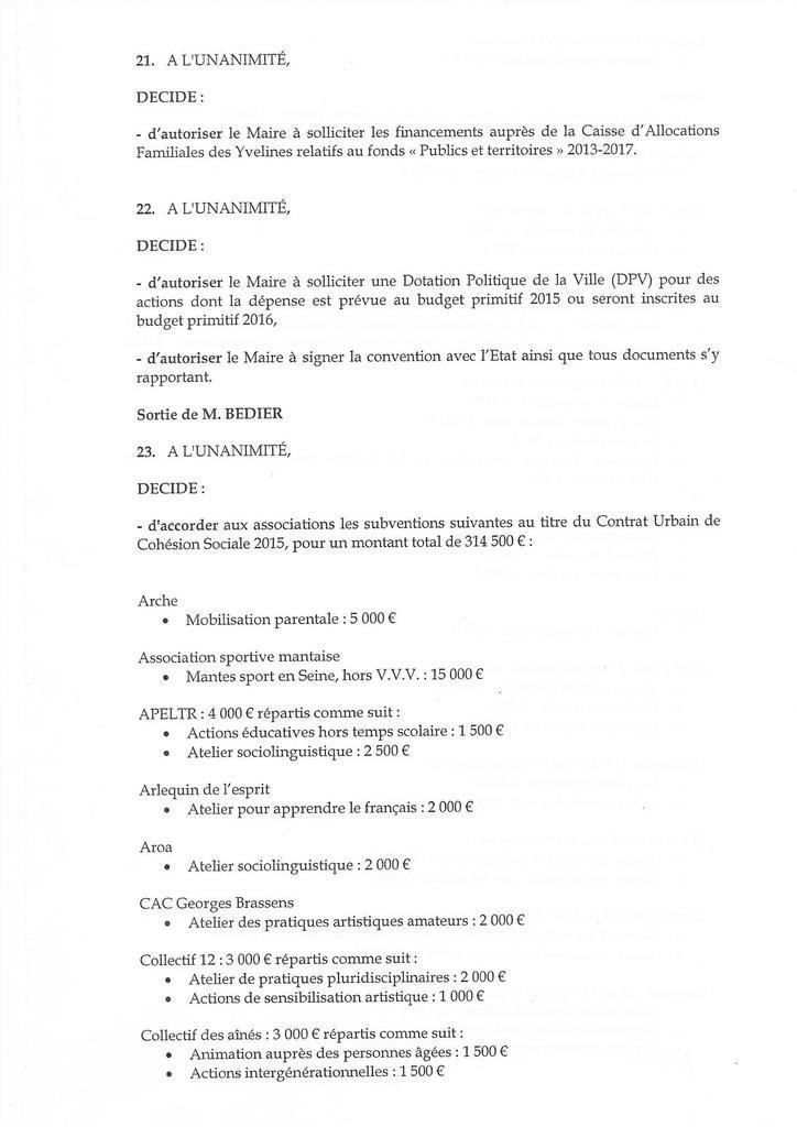 Mantes-la-Jolie. Conseil du 5 octobre. Communauté urbaine, extension Albert Uderzo et migrants ...