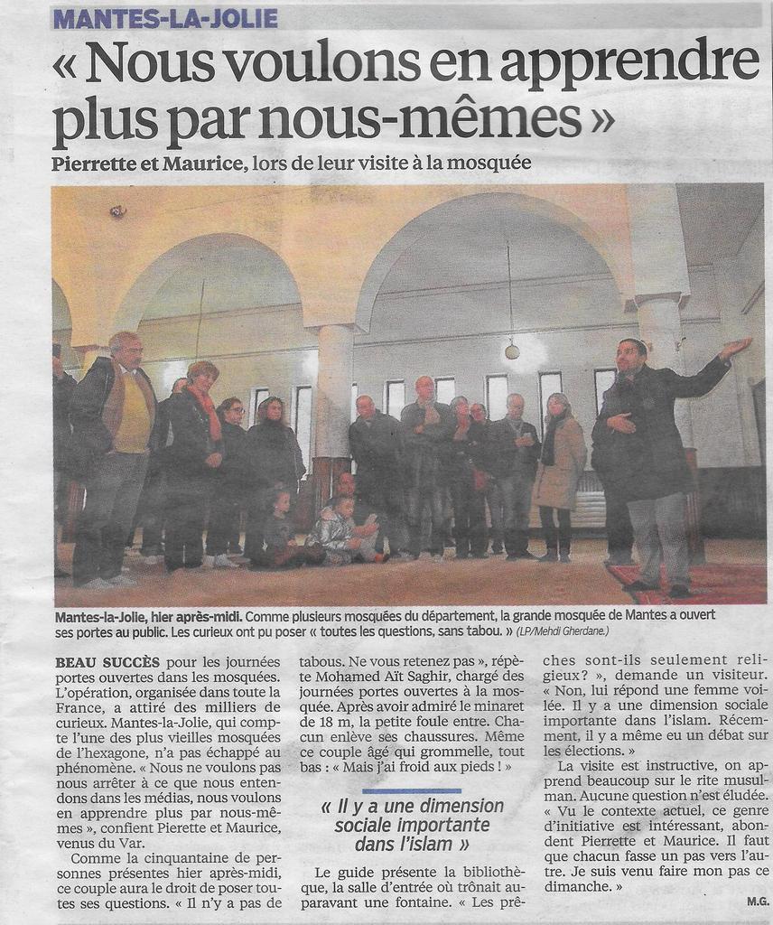 Le Parisien, lundi 11 février 2016