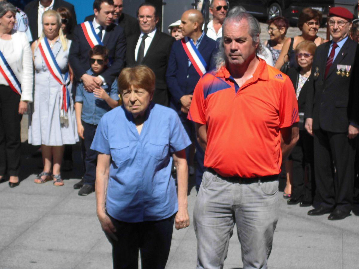 8 mai 2018. Les communistes de Mantes-la-Jolie commémorent la victoire contre le nazisme