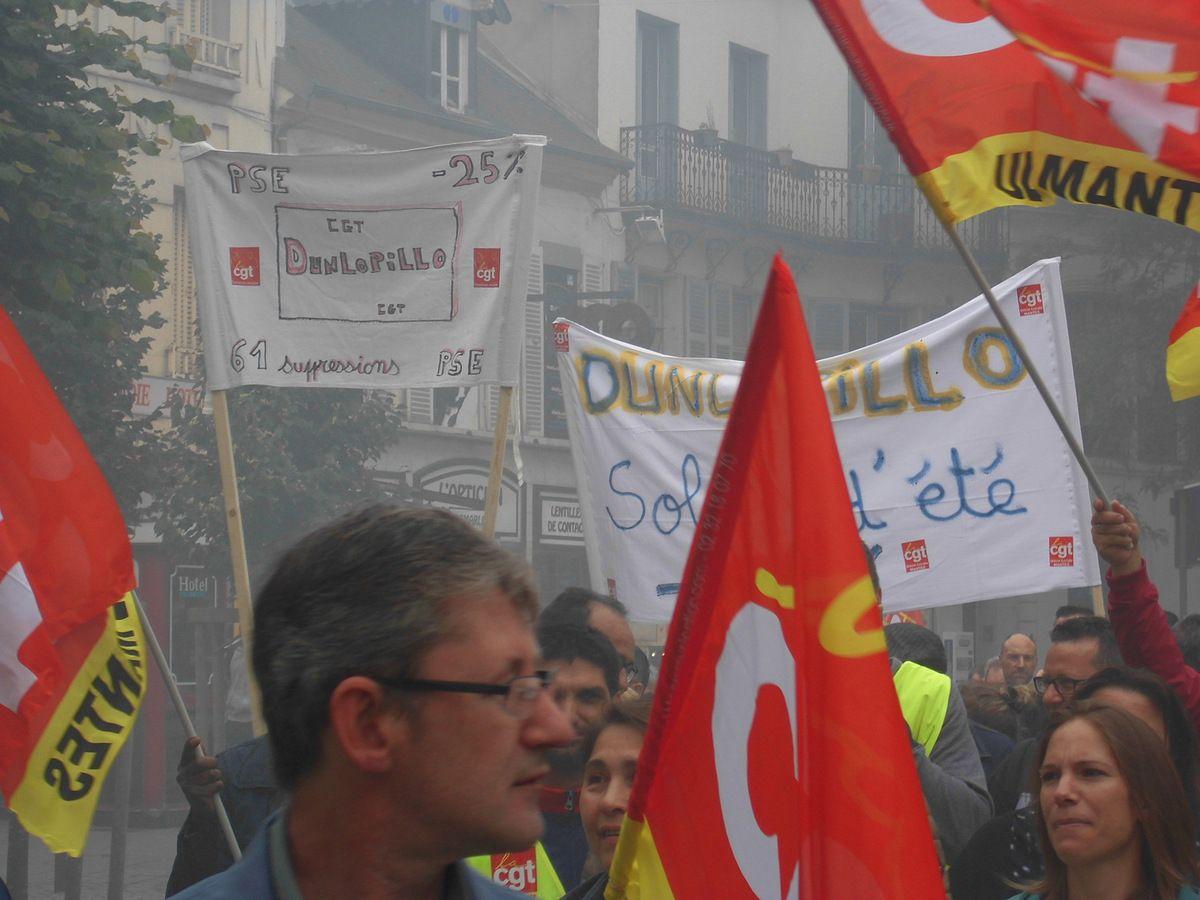 300 manifestants hier à Mantes-la-Jolie à l'appel de la CGT