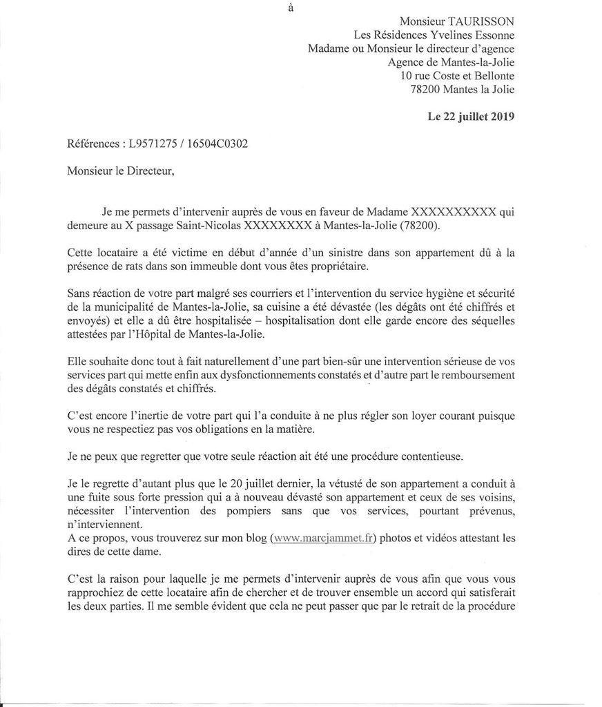 """Passage St Nicolas. LR Yvelines-Essonne. La chasse aux locataires """"embêtants"""" ?"""