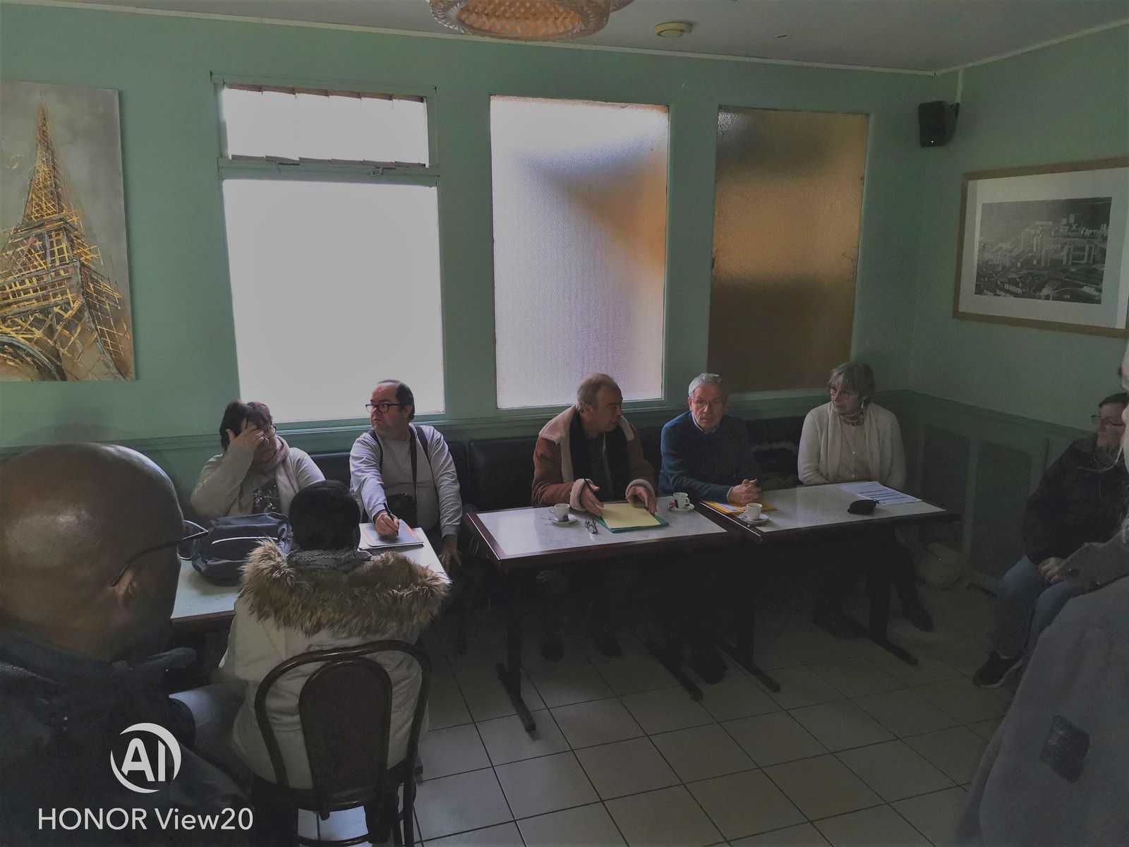 VIVRE MIEUX A MANTES-LA-JOLIE. Quelques photos de notre conférence de presse publique